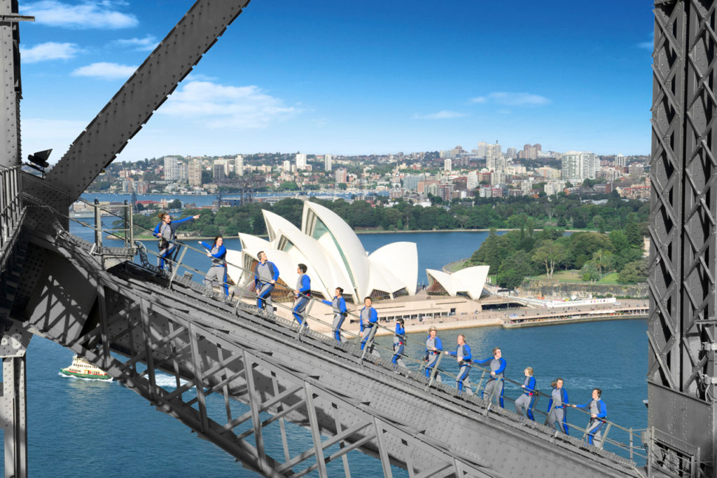 Bridgeclimb competition